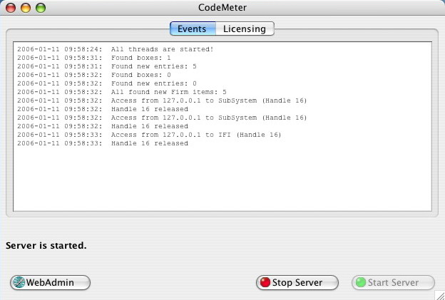 CodeMeter: Support - Installation on Mac OS X
